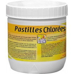 PASTILLE CHLORE EEFFERVESCENTE