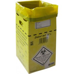 Caisse en carton  collecte des D.A.S.R.I.